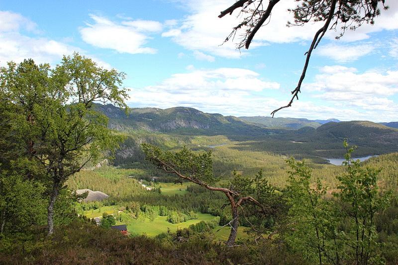 Herrliche Ausblicke in die Berge der Telemark