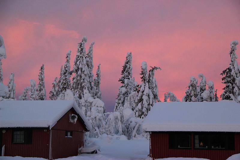 Sonnenuntergang - so gegen 15.00 Uhr.