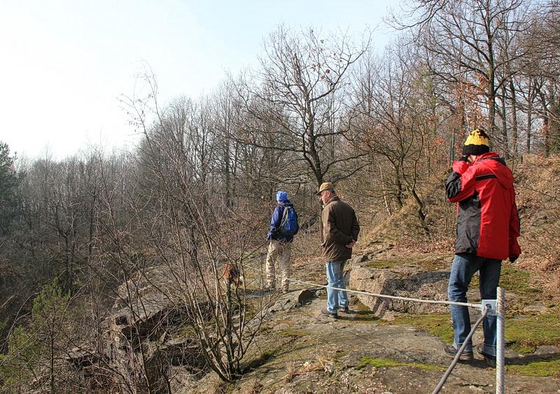 Steinbrüche in den Königshainer Bergen