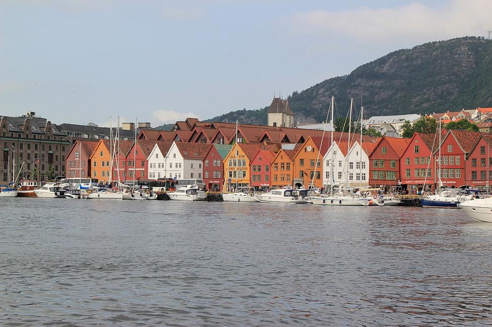 So kennt man es - Bergens Bryggen
