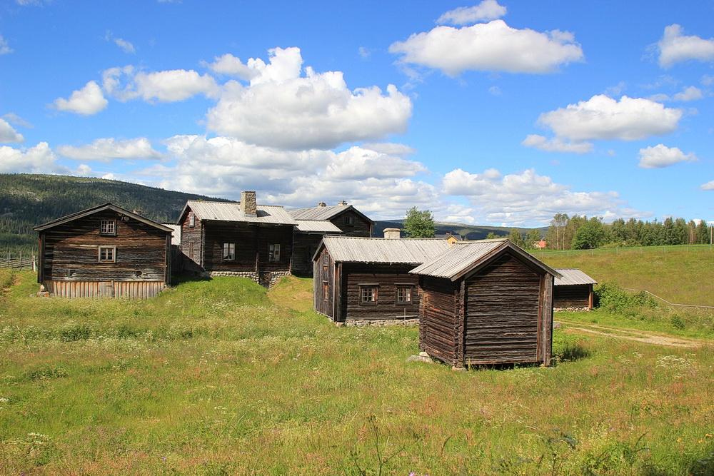 In Klövsjö, gleich neben der Touristinformation haben wir dieses kleine aber feine Freilichtmuseum entdeckt und angesehen.