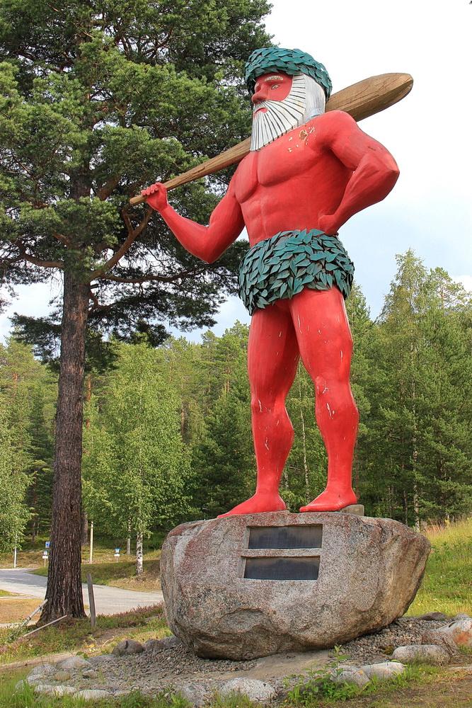Der Namensgeber des Ortes - der große Mann.