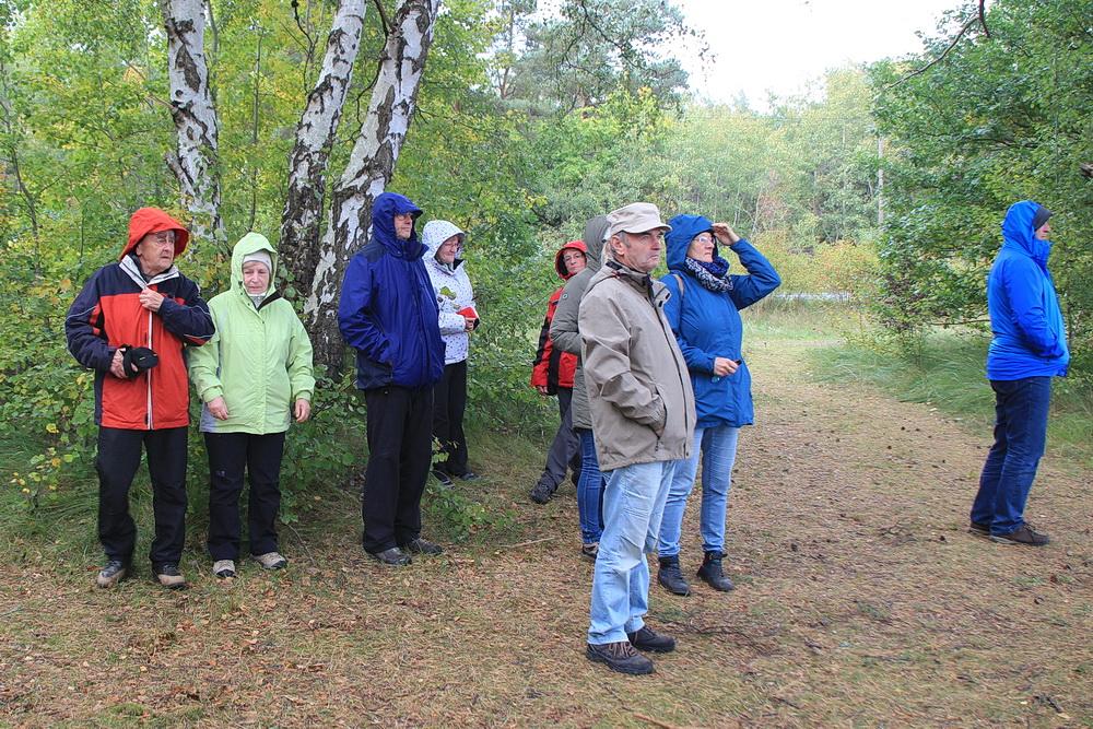 Zum Abschluss alssen wir uns in Prerow noch einregnen. Wir wollten den Norwegern ja nicht glauben, dass es nach 16.00 Uhr regnet!!