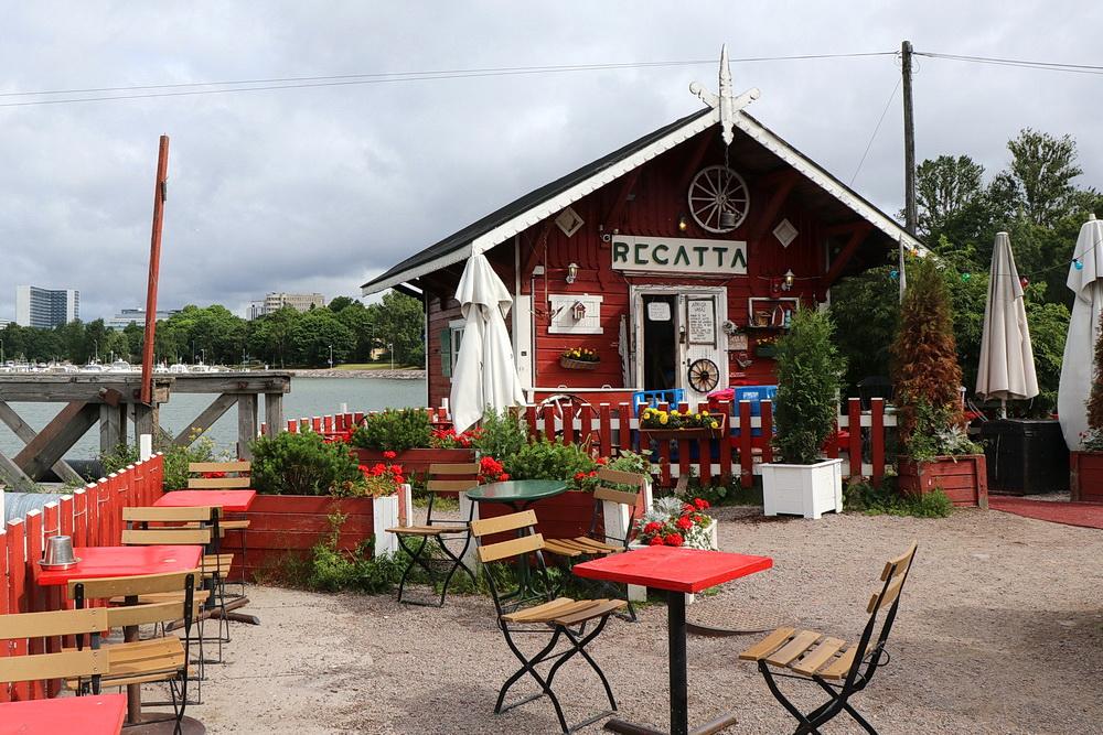 """""""Cafe Regatta"""" - ein interessantes Ziel!"""