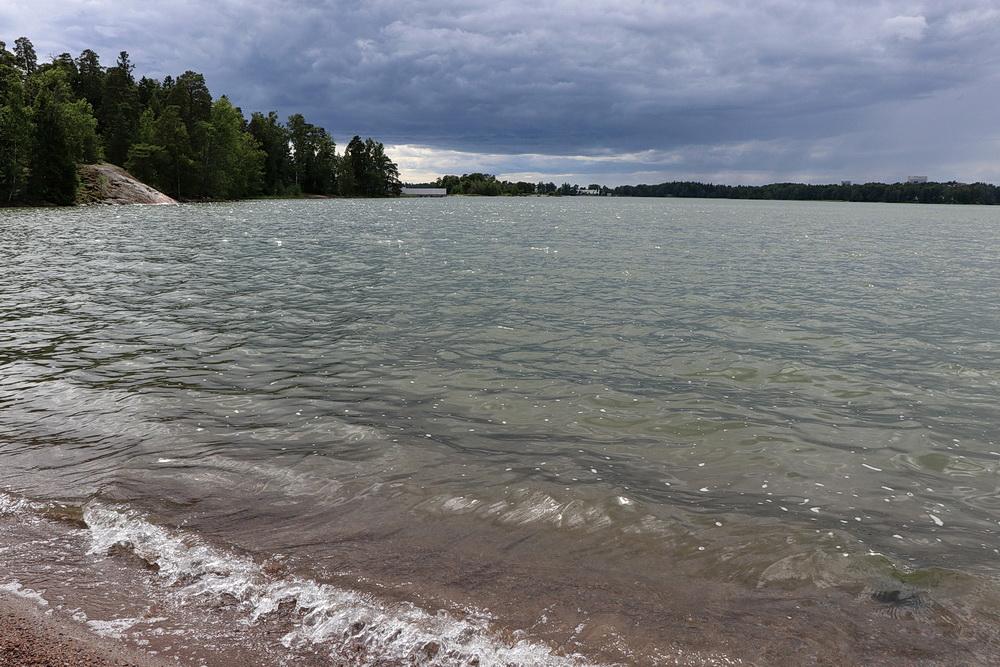 Blick übers Wasser - ein Stück Ostsee