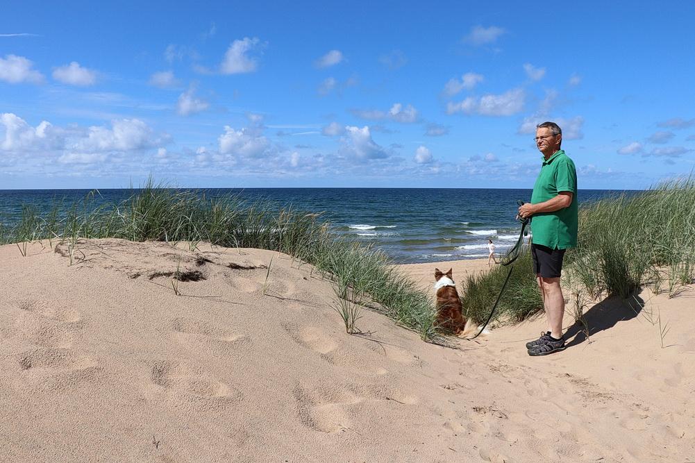 Natürlich wollen wir auch an dern Strand!